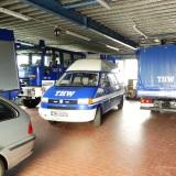 Das Zuhause unserer Fahrzeuge und Geräte: Die Fahrzeughalle
